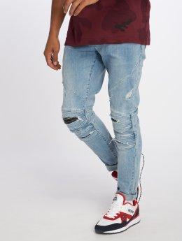 Cayler & Sons Straight Fit Jeans Alldd Paneled Inverted Ian blå