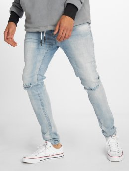 Cayler & Sons Straight fit jeans Alldd Team Ren blauw