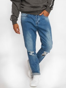 Cayler & Sons Straight Fit Jeans Tim fit modrý