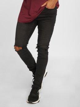 Cayler & Sons Straight fit jeans Alldd Team Ren zwart