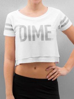Cayler & Sons t-shirt BL Dime Mesh Overlay Crop wit