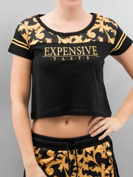 Cayler & Sons t-shirt SL Expensive Taste Crop zwart
