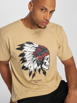 Cayler & Sons T-Shirty Csbl Tee Freedom Corps bezowy