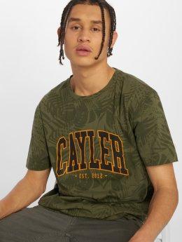 Cayler & Sons T-skjorter C&s Wl Palmouflage oliven