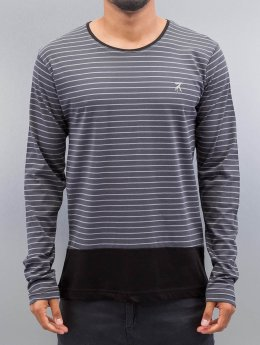 Cazzy Clang Langærmede Stripes  grå