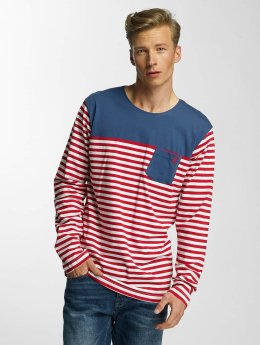 Cazzy Clang Longsleeve Stripes rood