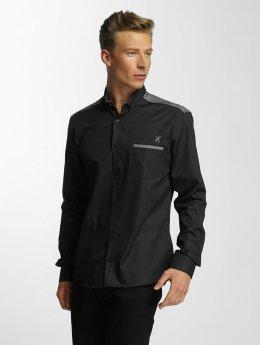 Cazzy Clang overhemd Riono zwart