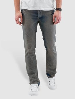 Cazzy Clang Straight Fit Jeans Washed blå