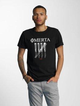 CHABOS IIVII Camiseta Omerta negro