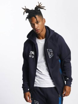 CHABOS IIVII Hoodies con zip Athletic Raglan Zipper  blu