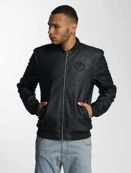 CHABOS IIVII Leather Jacket Blok PU black