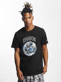 CHABOS IIVII t-shirt Camo Palazzo zwart