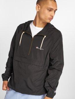 Champion Демисезонная куртка Hooded черный