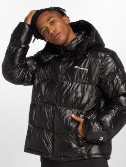 Champion Демисезонная куртка Puffer черный