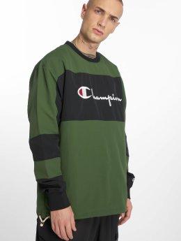 Champion Пуловер Reverse зеленый