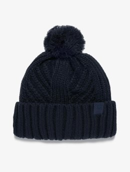 Champion Athletics Beanie Strick modrá