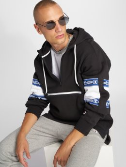 Champion Athletics Felpa con cappuccio Half Zip nero