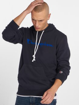 Champion Athletics Hoody Logo blau