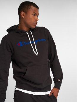 Champion Athletics Hoody Logo schwarz