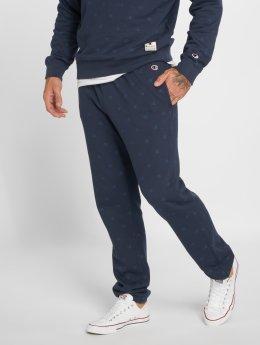 Champion Athletics joggingbroek Logo Elastic Cuff blauw