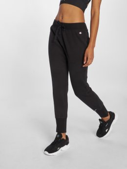 Champion Athletics joggingbroek Athletics Logo zwart