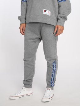 Champion Athletics Joggingbyxor Athleisure Rib Cuff grå
