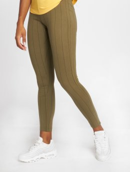 Champion Athletics Legging American Classics olijfgroen
