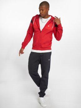 Champion Athletics Obleky Hooded Full Zip červený