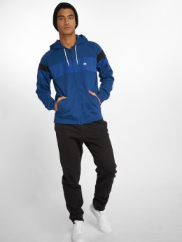 Champion Athletics Obleky Hooded Full Zip modrý