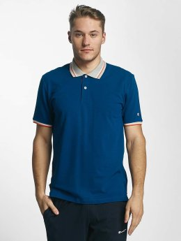 Champion Athletics Poloshirt Basic blau