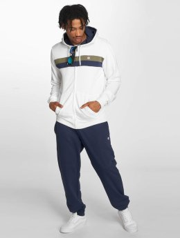 Champion Athletics Sweat capuche zippé Full blanc