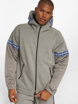 Champion Athletics Sweat capuche zippé Athleisure gris