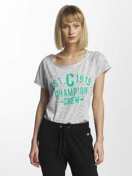 Champion Athletics T-Shirt Crew blanc