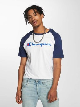 Champion Athletics T-Shirt Crew Neck blanc