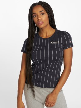 Champion Athletics Frauen T-Shirt Brand Passion in blau