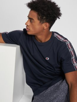 Champion Athletics t-shirt Athleisure blauw