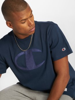 Champion Athletics T-Shirt Over Zone bleu