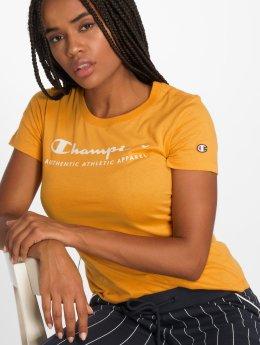 Champion Athletics t-shirt Brand Passion geel