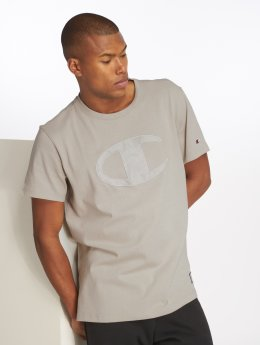 Champion Athletics t-shirt Over Zone grijs