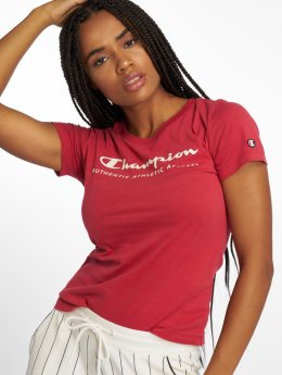 Champion Athletics T-Shirt Brand Passion rot