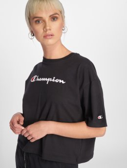 Champion Athletics T-Shirt Logo schwarz