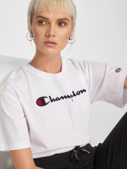 Champion Athletics T-Shirt Logo weiß