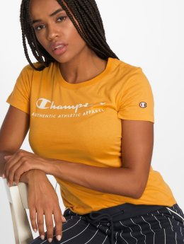 Champion Athletics T-Shirt Brand Passion yellow