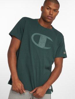 Champion Athletics T-Shirty Over Zone zielony