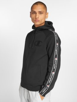 Champion Athletics Zip Hoodie Ev 0 Active čern