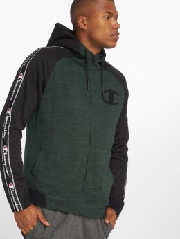 Champion Athletics Zip Hoodie Ev 0 Active grün