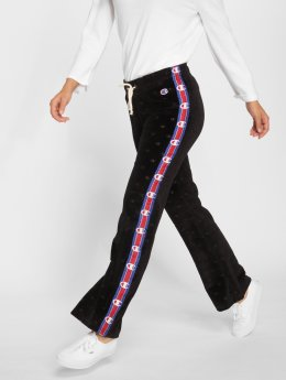 Champion Jogginghose Wide Leg schwarz