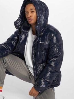Champion Lightweight Jacket Hooded blue