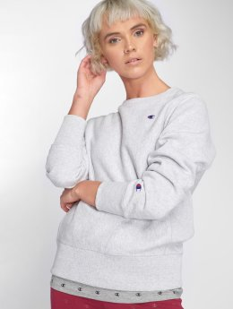 Champion Pullover Inside Out grau