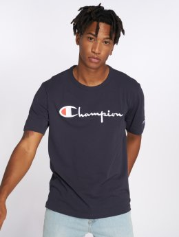 Champion t-shirt Classic blauw